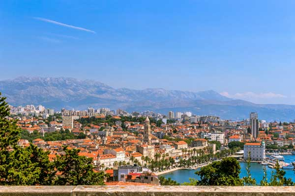 Costa de Split-Croacia